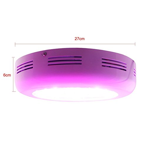 HHE UFO 135w LED Grow Light Flower Plant Grow Lamp Full Spectrum