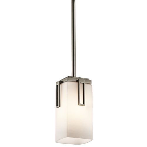 Kichler 42432AP One Light Mini Pendant (Antique Pewter 1 Light)