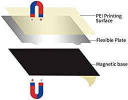 Xploit Impresora 3D calentada Plataforma Cama Adhesivo Magnético B ...