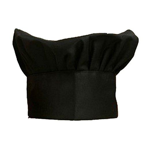 Kocome Comfortable Adjustable Men Cook Kitchen Baker Chef Elastic Cap Hat Catering