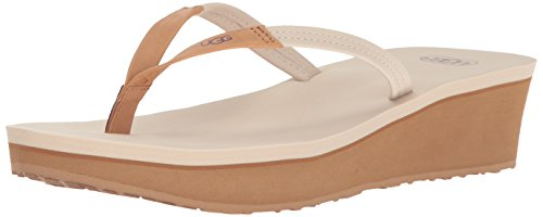 ugg-womens-ruby-wedge-flip-flop-canvas-10-b-us