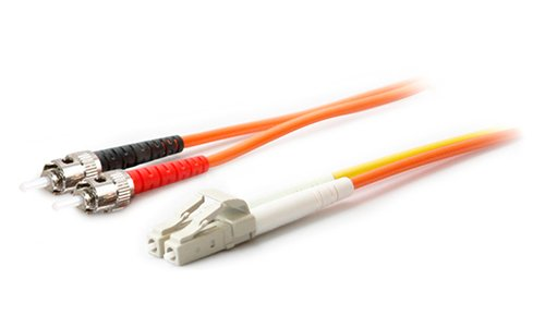 AddOn 2 x ST 50/125 to 1 x LC 50/125 & 1 x LC 9/125 3m Fiber Optic Mode Conditioning Patch Cable ADD-MODE-STLC5-3 - Mode Conditioning Fiber Optic