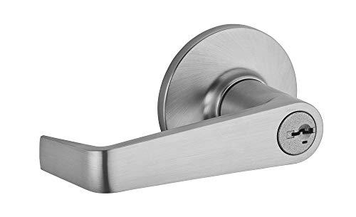(Kwikset 439CNL-26DS Light Commercial Carson Storeroom/Vestibule Locks Smart Key Satin Chrome Finish )