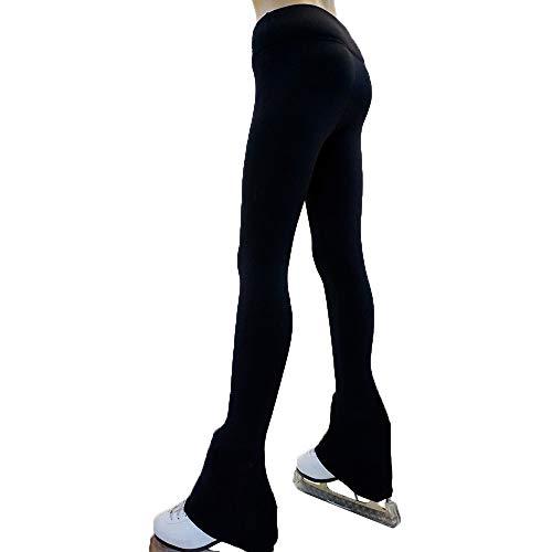 32c4ab4549 Victoria's Challenge Black ice Skating Leggings Skate Pants Polartec |  Thermal | Compression VCSP17