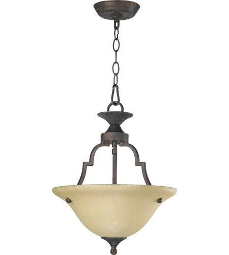 Coventry 2 Light Convertible Inverted Pendant Finish: Toasted (2 Light Convertible Bowl Pendant)
