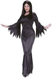 FunWorld Madam Morticia, Black, One Size Costume