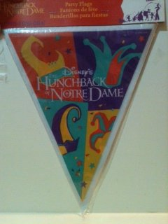 Disney's The Hunchback of Notre Dame Party Flags Banner