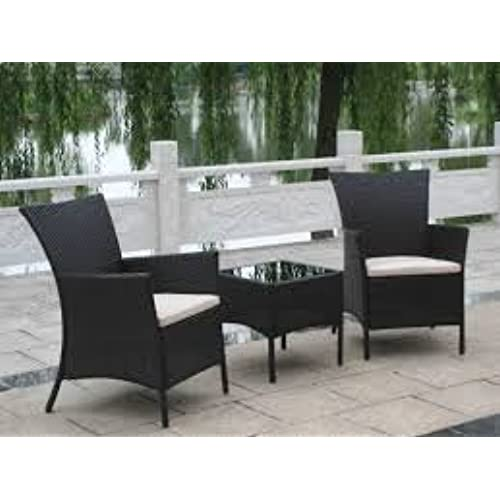 PATIO FURNITURE OUTDOOR LAWN U0026 GARDEN HAMPTON BAY WOODBURY WITH TEXTURED  SAND CUSHIONS 3 PC