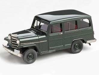 Willys Overland 4wd Station Wagon (1952) Diecast Model Car (Best 4wd Station Wagon)