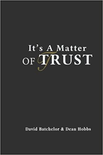 Book It's A Matter Of Trust