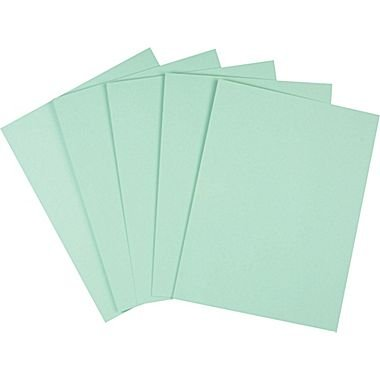 "Staples Pastel Colored Copy Paper, 8 1/2"" x 11"", Green, 500/Ream (14781)"