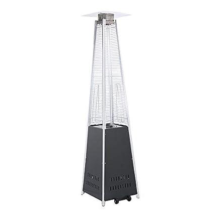 Yogasada 12KW Tubo de Vidrio de Cuarzo Calentador de Patio Comercial Acampar al Aire Libre Senderismo