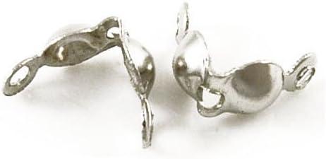 Paquet 225 HA02801 Charming Beads Argent Antique Fer Plaqu/é 4mm Caches Noeuds
