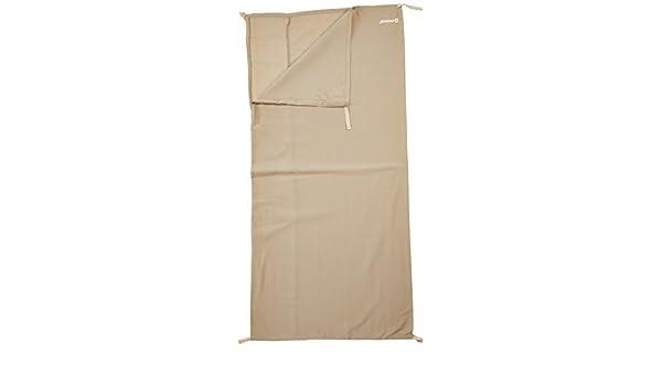 Outwell Schlafsack-Innenbezug Baumwoll-Liner-Steppdecke (Einzel) - Extensor para Saco de Dormir, Color Beige, Talla Única: Amazon.es: Deportes y aire libre