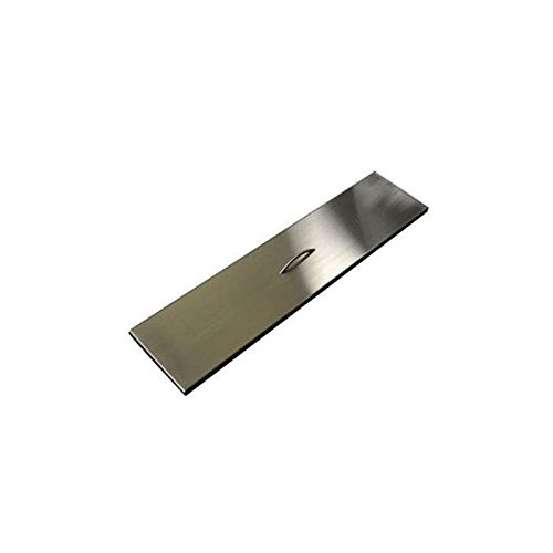 Hearth Products Controls (HPC) Rectangular Stainless Steel Fire Pit Cover (TPHC-48SS), 52x9.5 Inch