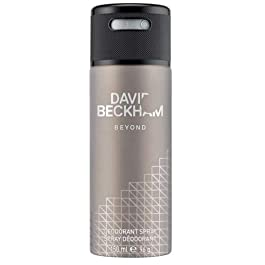 #MG DAVID BECKHAM Deodorant Spray 150ml Beyond -David Beckham's Beyond Deodorant Body Spray keeps you smelling fresh all day, provides a subtle layer of scent, and prevents odors