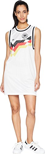 - adidas Originals Women's Germany Tank Dress White Medium