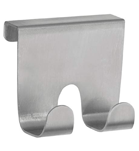 Jed Mart Over Cabinet Drawer Stainless Steel Double Hook