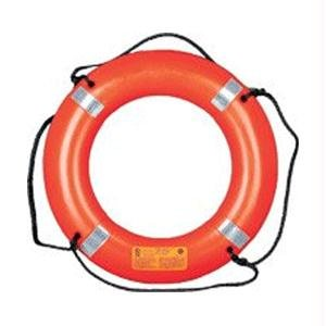 Mustang 24-inch Ring Buoy with Reflective Tape, Orange by Mustang