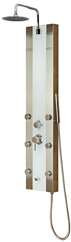 Pulse 1039W-BN Tropicana Shower Spa, Brushed Nickel