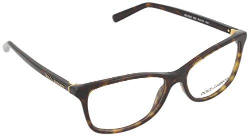 Dolce&Gabbana DG3222 Eyeglass Frames 502-54 - Havana - Dolce Glasses Gabbana Frames Mens And