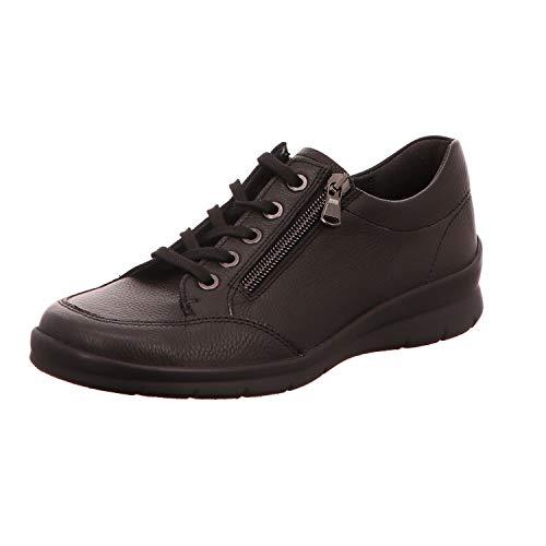 à Femme Ville de Lacets Noir Chaussures pour Semler qTfgt4