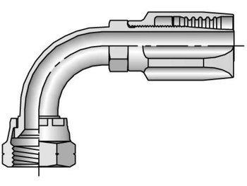 Parker 7920-12-12 Female 90 Deg Swivel 3//4 SAE X 3//4 Hose Reusable