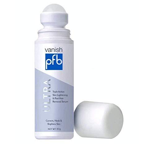 - PFB Vanish Ultra with Chromabright & Shitake Mushroom, Triple Action Dark Spot Remover, Ingrown Hair & Razor Bump Stopper, Roll-On Skin Care Treatment, 93g - New Formula