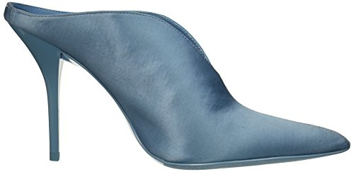 Calvin Klein Satin Women's Pump Blue Faded Mallie vpvqaRr