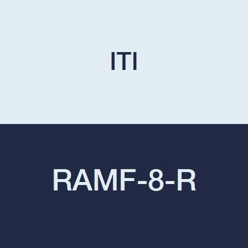 ITI RAMF-8-R Cancun Fluted Ramekin, 6 oz. Capacity, 4'' Diameter, 1.75'' Height, Ceramic, Red (Pack of 36)