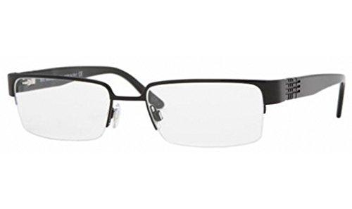Burberry BE 1110 Eyeglasses Styles Shiny Black Frame w/Non-Rx 53 mm Diameter BE1110-1001-53
