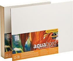 Ampersand Deep Cradle Aquabord 12 in. x 12 in. by Ampersand