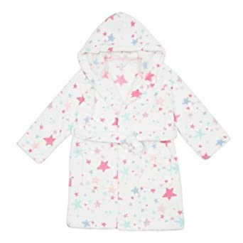 9c0e426ee Debenhams Kids Girls  Star Dressing Gown Age 1-14 Years