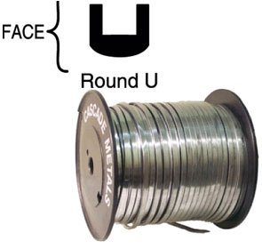 Spooled Lead - 5/64'' Round U Came by Cascade