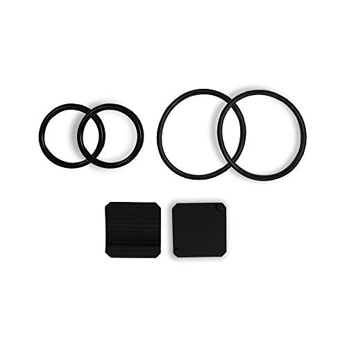TAOPE Bike Speed Cadence Sensor Accessories, 4 Rubber Rings and 2 Rubber Mats