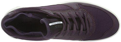 Damen Ladies Cs16 Ecco Violett MAUVE Sneaker MAUVE BLACK50157 gqPndwZH