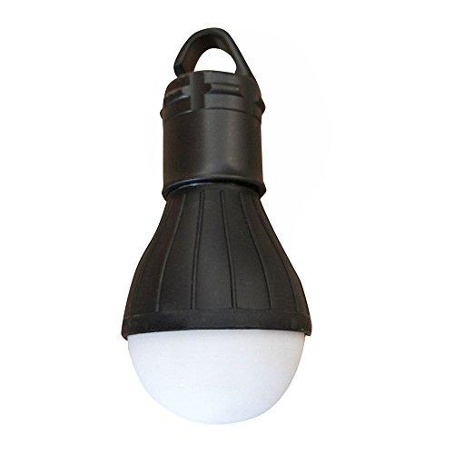 Quaanti Camping Light,Outdoor Emergency Lamp LED Camping Hik Tent Fishing Lantern Hanging Light Black (Black)