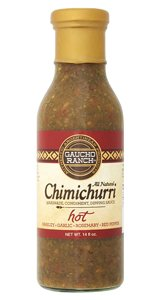 Gaucho Ranch Sauce Chimchrri Hot 12.5 Oz