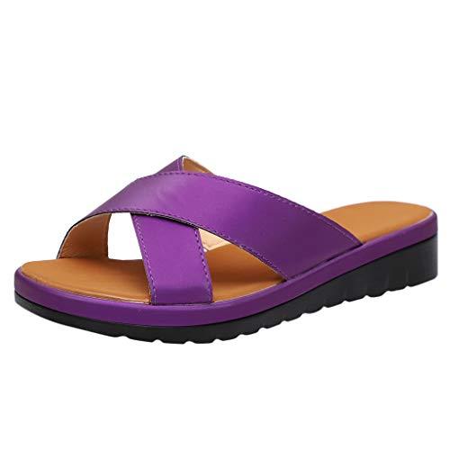 - EDTO Women Comfy Platform Sandal Shoes,Summer Beach Travel Shoes Fashion Sandals Comfortable Ladies Open Toe Shoes