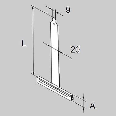 5 x Rollladen Aufh/ängefeder Befestigungsfeder Mini