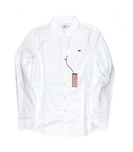 Vineyard Vines Vineyard Vines Womens Oxford Shirt Solid