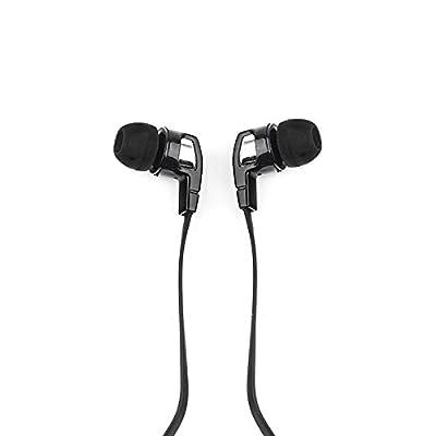 Elbe AU-M19-AI - Auriculares intrauditivos de 3,5 mm, color negro