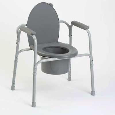 All In One Steel Commode (Invacare All-In-One-Commode - Coated Steel Frame by Invacare)
