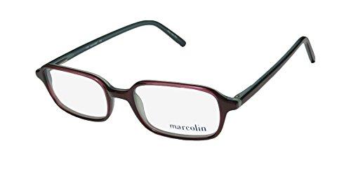 0b75bd42573 Marcolin 771 Mens Womens Designer Full-rim Spring Hinges Eyeglasses Eyewear  (48-18-135