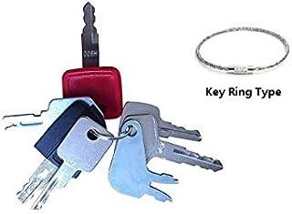 7 Keys Heavy Equipment / Construction Key Set John Deere, Fiat, Case, New Holland, Hitachi,Bobcat,Caterpiller more