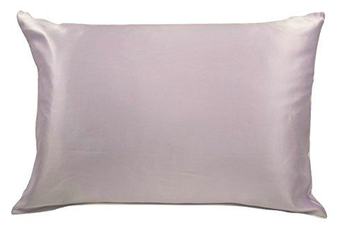 100% Silk Pillowcase for Hair Zippered Luxury 25 Momme Mulbe