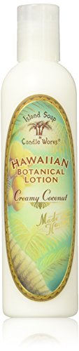 - Island Soap & Candle Works Lotion, Creamy Coconut, 8.5 Ounce