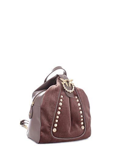 Pinko dos perle Battistelli Vert Sacs à Velluto Backpack wx1HrwO