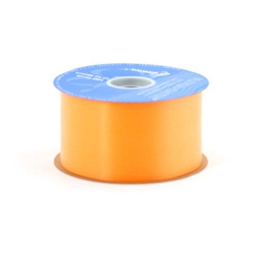 Berwick 2-3/4-Inch Wide by 100-Yard Spool Flora Satin Craft Ribbon, Tropical Orange ()
