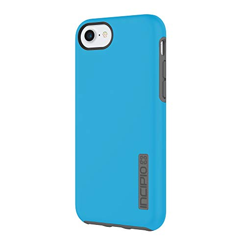 (iPhone 7 Case, Incipio [Hard Shell] [Dual Layer] DualPro Case for iPhone 7-Cyan/Charcoal)